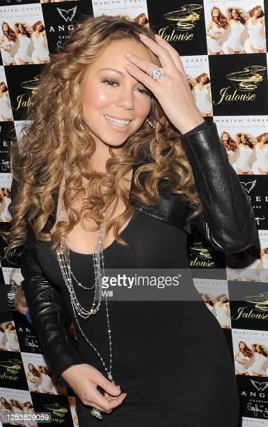 Mariah Carey arrives at Jalouse nightclub on November 20, 2009 in London, England.