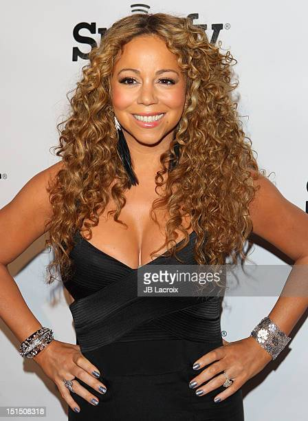 Mariah Carey arrives at the 12th Annual BMI Urban Awards held at Saban Theatre on September 7, 2012 in Beverly Hills, California.