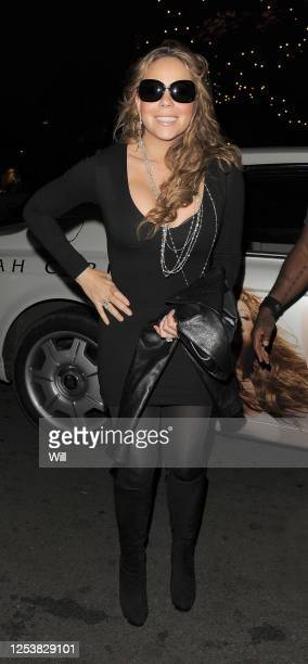 Mariah Carey arrives back at the Dorchester hotel on November 20, 2009 in London, England.