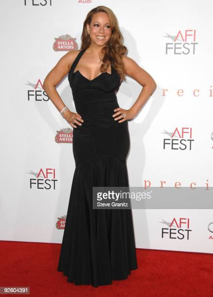 Mariah Carey at AFI FEST 2009 Screening Of Precious Based On The Novel 'PUSH' By Sapphire on November 1 2009 in Hollywood California