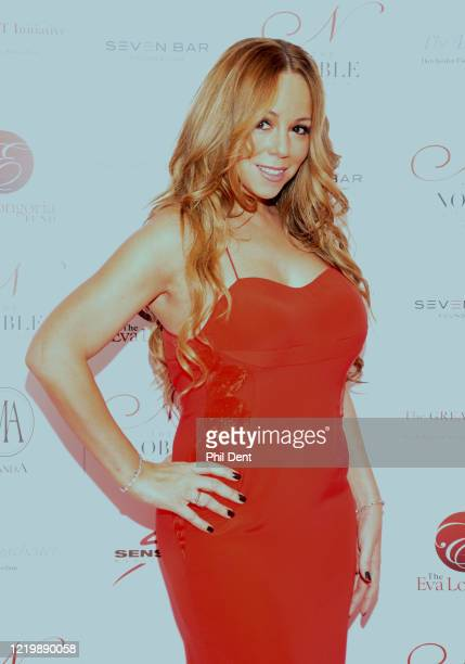 Mariah Carey at an event London 2011