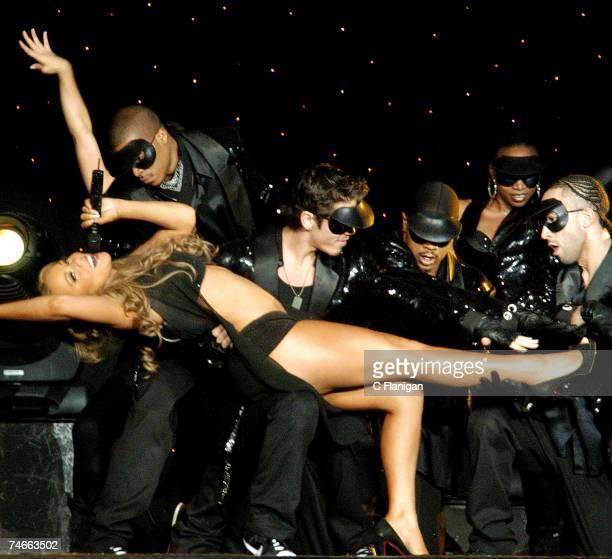 Mariah Carey at the Mariah Carey and Busta Rhymes Live in Concert at the Oakland Arena - October 2, 2006 at in Oakland, California.