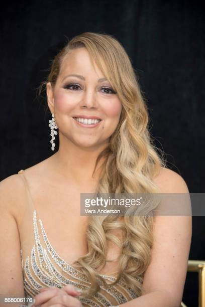 Mariah Carey at 'The Star' press conference at the Beverly Wilshire Hotel on October 28 2017 in Beverly Hills California