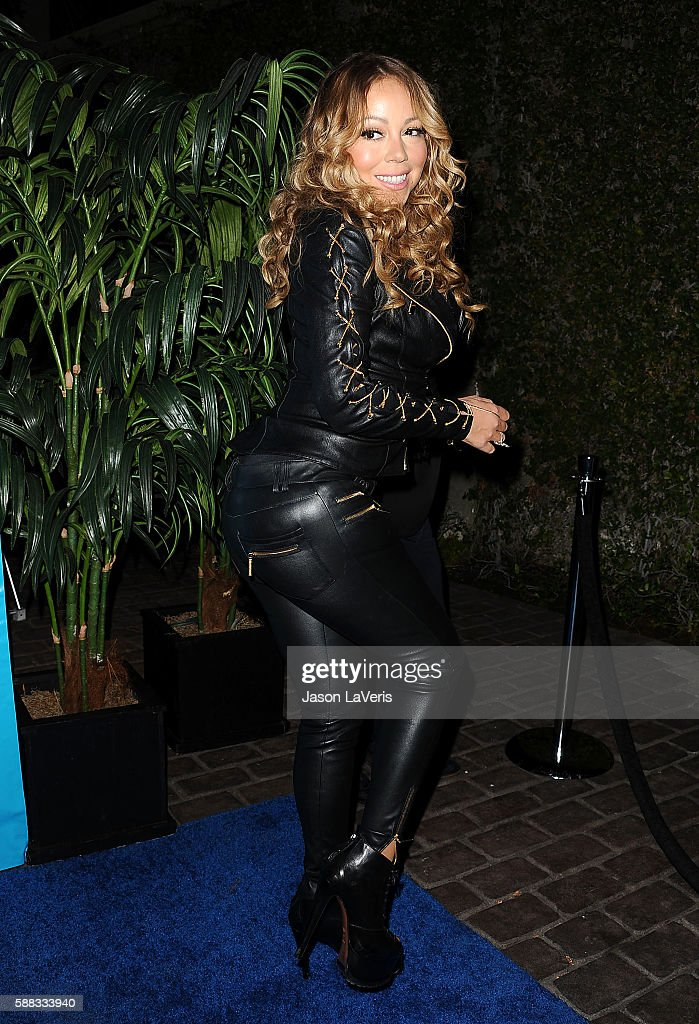 Mariah Carey attends a special event for UN Secretary-General Ban Ki-moon on August 10, 2016 in Los Angeles, California.