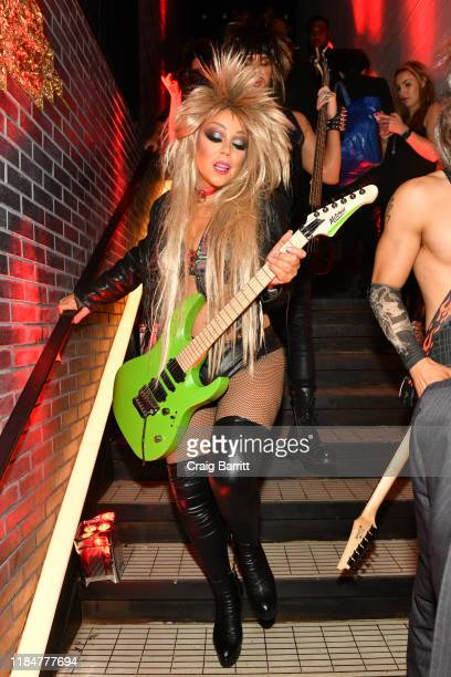 Mariah Carey attends Heidi Klum's 20th Annual Halloween Party presented by Amazon Prime Video and SVEDKA Vodka at Cathédrale New York on October 31...
