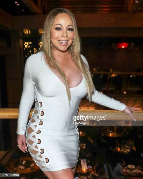 Mariah Carey attends Mishka Bulochnikov's 14th Birthday Celebration at Tao Los Angeles on May 4 2017 in Los Angeles California