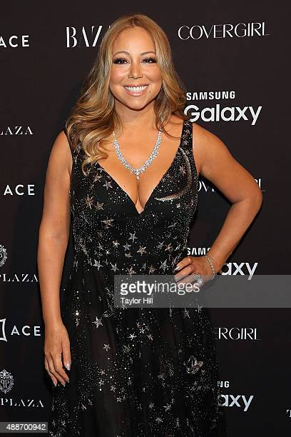 Mariah Carey attends the 2015 Harper ICONS party at The Plaza Hotel on September 16, 2015 in New York City.