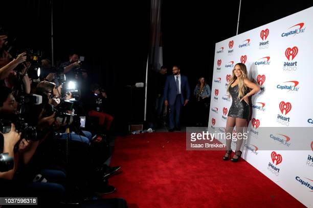 Mariah Carey attends the 2018 iHeartRadio Music Festival at TMobile Arena on September 21 2018 in Las Vegas Nevada