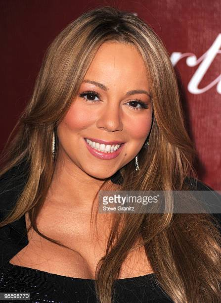 Mariah Carey attends the 21st Annual Palm Springs International Film Festival at Palm Springs Convention Center on January 5 2010 in Palm Springs...