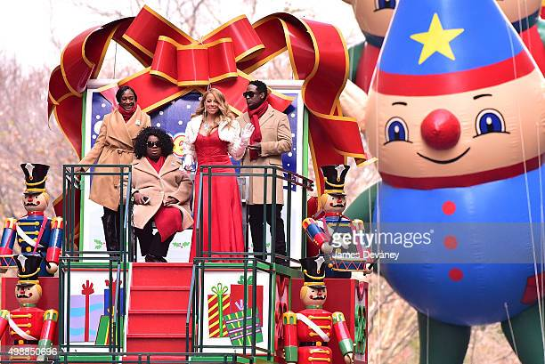 Mariah Carey attends the 89th Annual Macy's Thanksgiving Day Parade on November 26 2015 in New York City