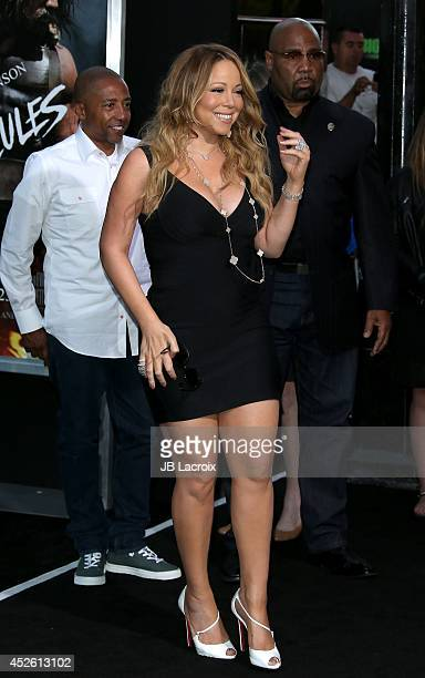 Mariah Carey attends the Hercules Los Angeles Premiere on July 23 2014 at the TCL Chinese Theatre in Hollywood California