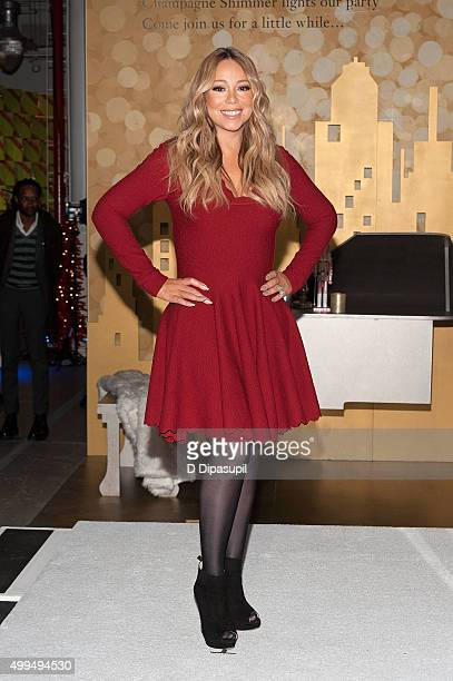 Mariah Carey attends the Pier 1 Imports Popup Store launch event on December 1 2015 in New York City