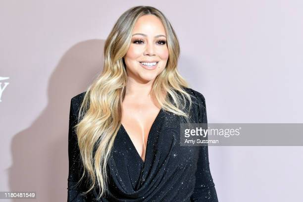 Mariah Carey attends Variety's 2019 Power of Women Los Angeles presented by Lifetime at the Beverly Wilshire Four Seasons Hotel on October 11 2019 in...