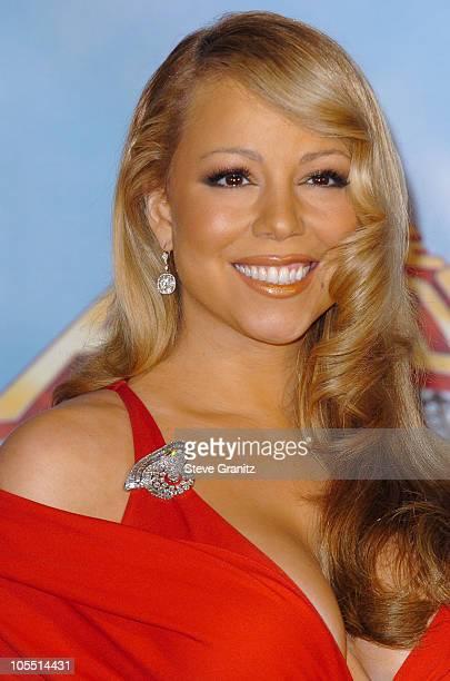 Mariah Carey during 2005 MTV Movie Awards Press Room at Shrine Auditorium in Los Angeles California United States