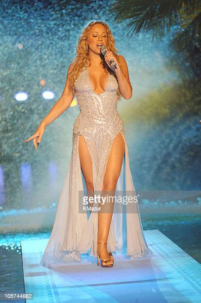 Mariah Carey during 2005 MTV Video Music Awards Show at American Airlines Arena in Miami Florida United States