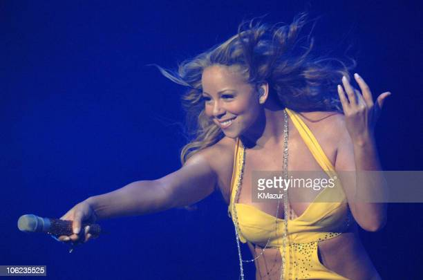 Mariah Carey during Mariah Carey The Adventures of Mimi Tour Los Angeles October 6 2006 at Staples Center in Los Angeles California United States