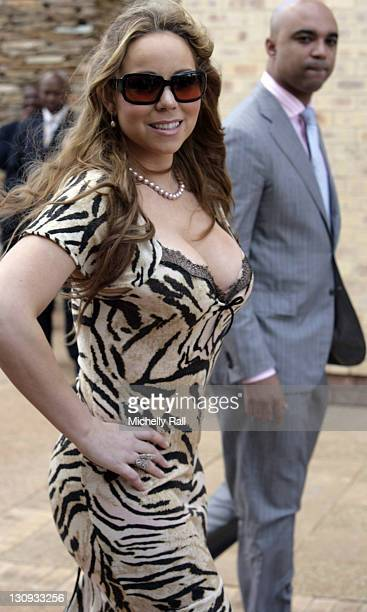 Mariah Carey during Oprah Winfrey Opens School for Girls in South Africa January 2 2007 at Oprah Winfrey Leadership Academy for Girls in HenleyonKlip...