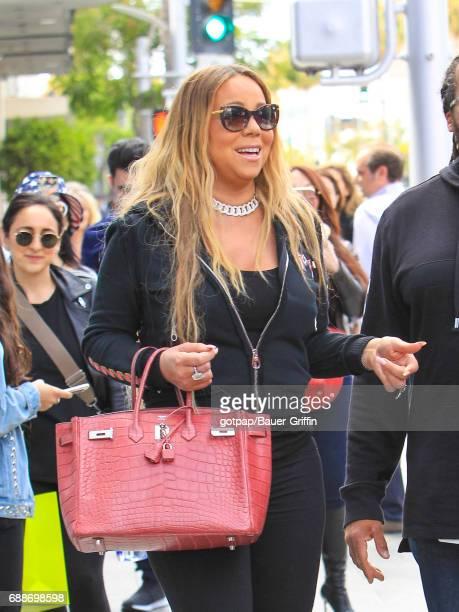 Mariah Carey is seen on May 25 2017 in Los Angeles California