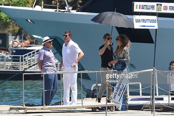 Mariah Carey James Packer and Kerry Stokes are seen on June 26 2015 in Portofino