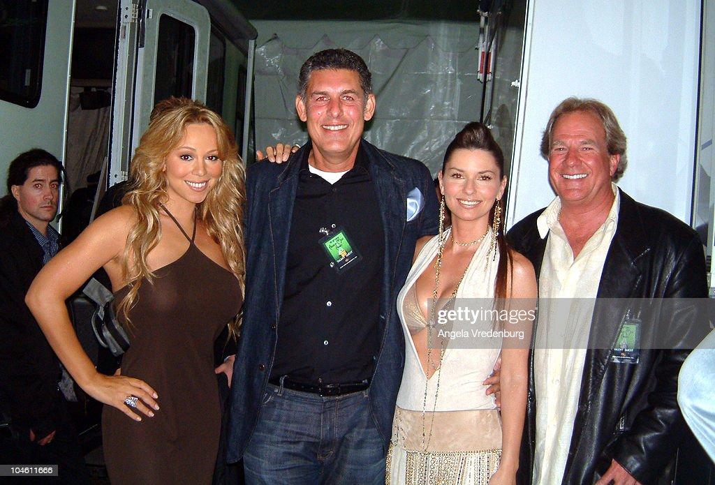 Mariah Carey, Lyor Cohen, Chairman/CEO, The Island Def Jam Music Group, Shania Twain and Luke Lewis, Chairman/CEO, Mercury Nashville