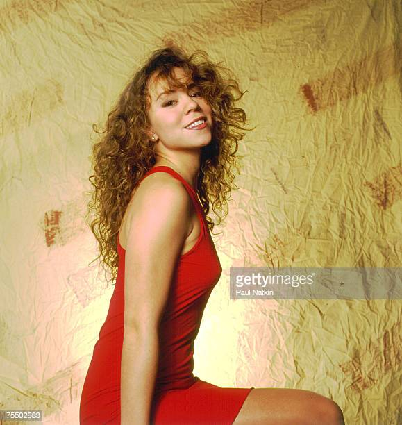 Mariah Carey on 2/3/92 in Chicago,Il. In Various Locations,