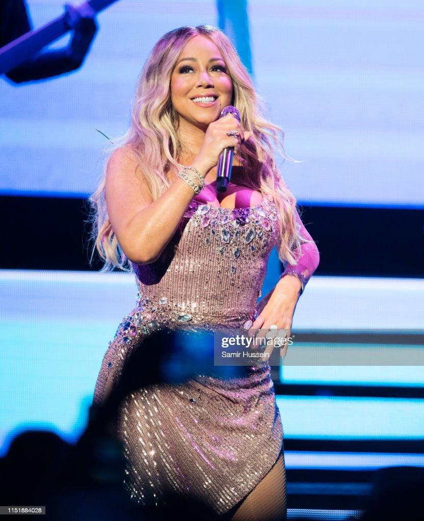 GBR: Mariah Carey Performs At Royal Albert Hall In London