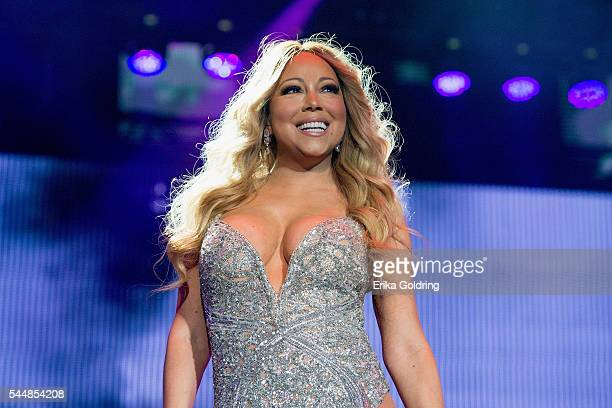 Mariah Carey performs at the MercedesBenz Superdome on July 2 2016 in New Orleans Louisiana