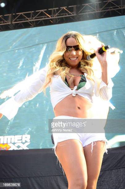 Mariah Carey performs during HOT 97 Summer Jam XX at MetLife Stadium on June 2, 2013 in East Rutherford, New Jersey.