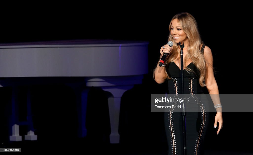 AHF World AIDS DAY Concert and 30th Anniversary Celebration: Featuring Mariah Carey, DJ Khaled, Mario Lopez, Laverne Cox : Foto di attualità