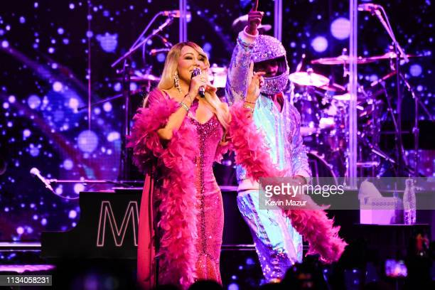 Mariah Carey performs onstage during the the Caution World Tour at Fox Theater on March 05 2019 in Atlanta Georgia
