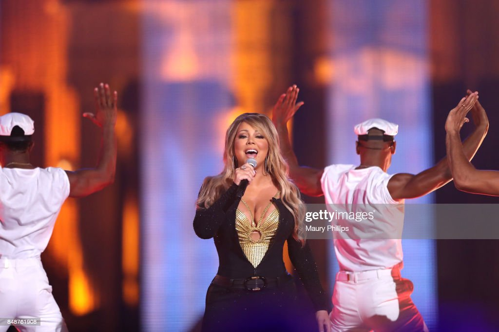 Mariah Carey performs onstage during VH1 Hip Hop Honors: The 90s Game Changers at Paramount Studios on September 17, 2017 in Los Angeles, California.