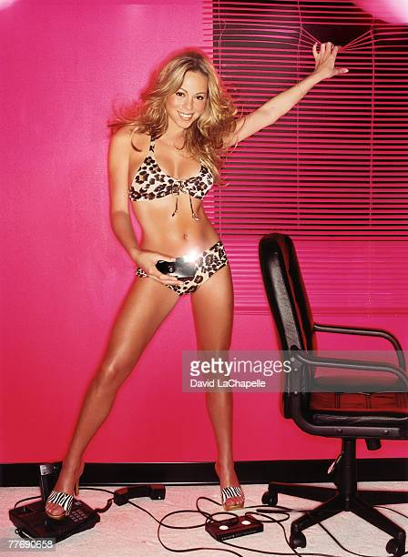 'Mariah Carey photographed by David LaChapelle for Mariah Carey Rolling Stone shoot on February 17 2000 Cover image