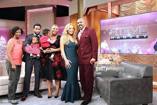 Mariah Carey and Steve Harvey help in celebrating Super Mom Taneshia StoddartKerr's makeover