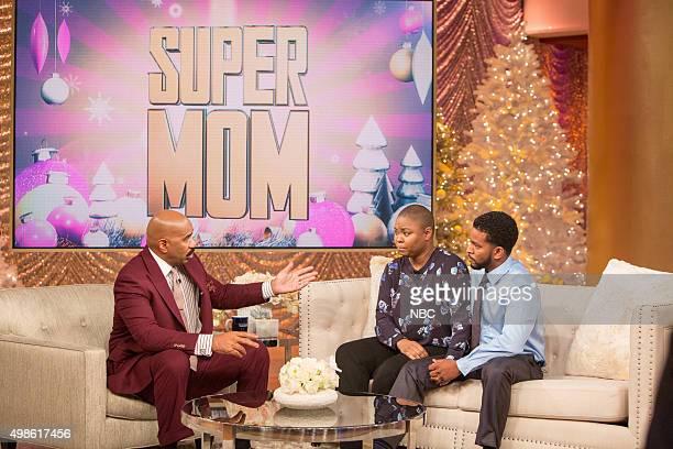 Steve Harvey Super Mom Taneshia StoddartKerr and her husband Tim Kerr