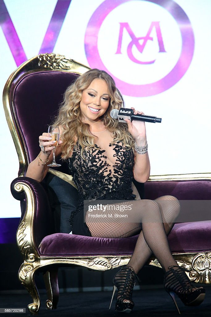 Mariah Carey speaks onstage at the 'Mariah's World' panel discussion during the NBCUniversal portion of the 2016 Television Critics Association Summer Tour at The Beverly Hilton Hotel on August 3, 2016 in Beverly Hills, California.