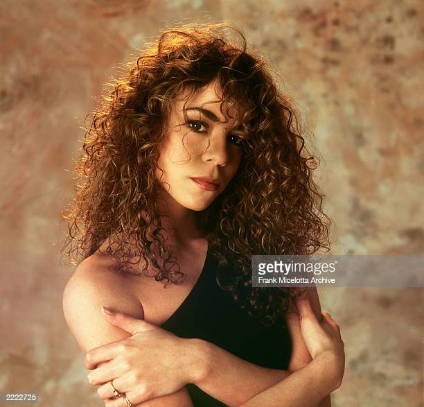 Mariah Carey studio photo shoot.
