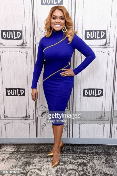 Mariah Huq visits Build Series to discuss the reality TV series 'Married to Medicine' at Build Studio on November 14, 2018 in New York City.