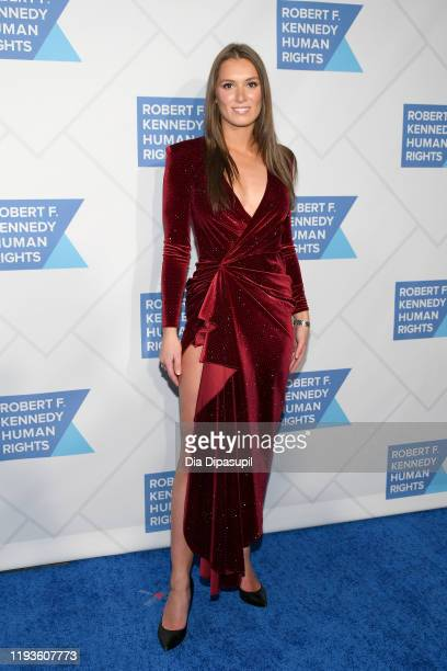 Mariah Kennedy Cuomo arrives at the 2019 RFK Ripple of Hope Awards at New York Hilton Midtown on December 12 2019 in New York City