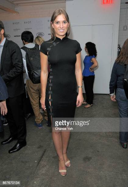 Mariah Kennedy Cuomo attends Take Every Wave The Life Of Laird Hamilton New York premiere at The Metrograph on October 4 2017 in New York City