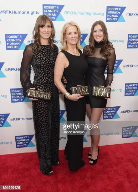 Mariah Kennedy Cuomo Kerry Kennedy and Michaela Kennedy Cuomo attend Robert F Kennedy Human Rights Hosts Annual Ripple Of Hope Awards Dinner on...