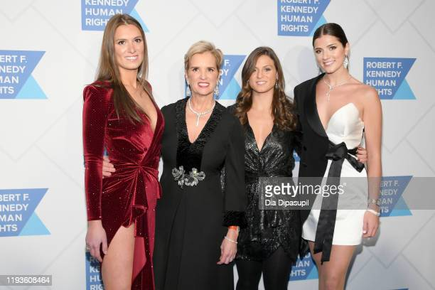 Mariah Kennedy Cuomo Kerry Kennedy Cara Cuomo and Michaela Cuomo arrive at the 2019 RFK Ripple of Hope Awards at New York Hilton Midtown on December...