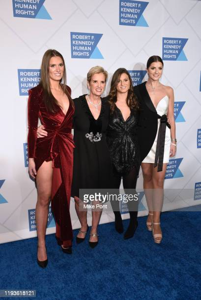 Mariah Kennedy Cuomo Kerry Kennedy Cara Cuomo and Michaela Cuomo attend the Robert F Kennedy Human Rights Hosts 2019 Ripple Of Hope Gala Auction In...