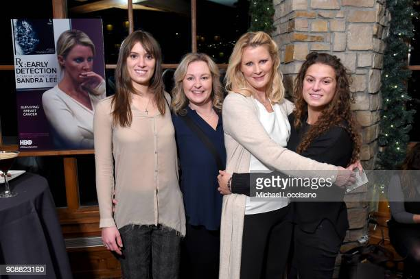 Mariah Kennedy Cuomo Kimber Lee Sandra Lee and Cara Kennedy Cuomo attend 2018 HBO Documentary Films Party At Sundance 2018 during the 2018 Sundance...