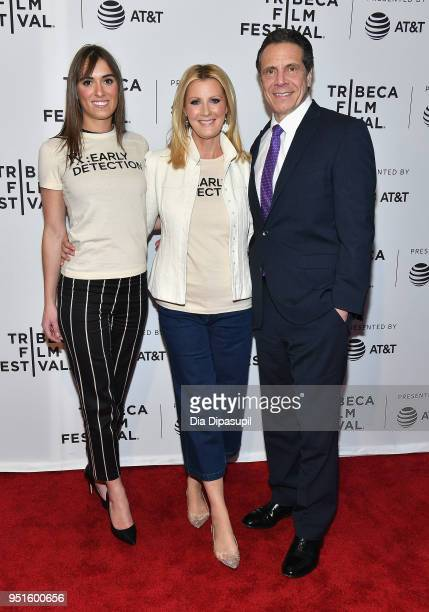Mariah Kennedy Cuomo Sandra Lee and Governor of New York Andrew Cuomo attend a screening of RX Early Detection A Cancer Journey With Sandra Lee...