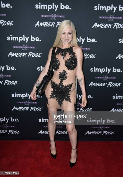 Mariah Lynn attends Amber Rose x Simply Be Launch Party at Bootsy Bellows on June 20 2018 in West Hollywood California