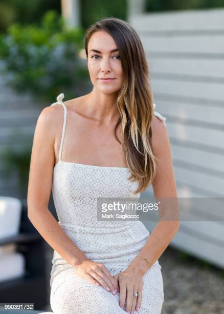 Mariah Lyons attends Hamptons Magazine and Carbon 38 Presention of An Evening Of Crystal Healing with Mariah Lyons at Carbon38 on July 2 2018 in...