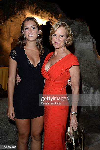 Mariah Matilda Kennedy Cuomo and Kerry Kennedy attend Day 1 of the Ischia Global Fest 2013 on July 13 2013 in Ischia Italy