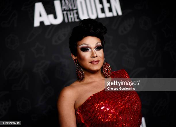 Mariah Paris Balenciaga attends the premiere of Netflix's AJ and the Queen Season 1 at the Egyptian Theatre on January 09 2020 in Hollywood California