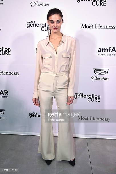 Mariah Strongin attends the 2016 amfAR GenerationCure Holiday Party at Cadillac House on December 7 2016 in New York City