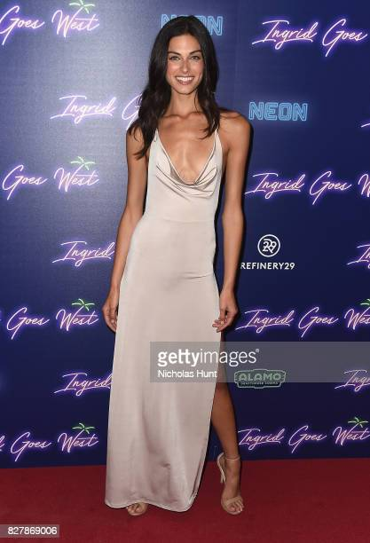 Mariah Strongin attends the Neon Hosts The New York Premiere of Ingrid Goes West at Alamo Drafthouse Cinema on August 8 2017 in the Brooklyn borough...